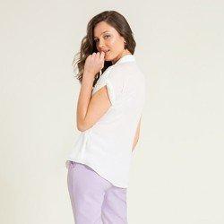 camisa ampla off white makayla modelagem