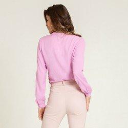 camisa lilas kezia modelagem