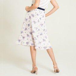 saia plissada floral marisol modelagem