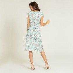 vestido menta floral julieta modelagem