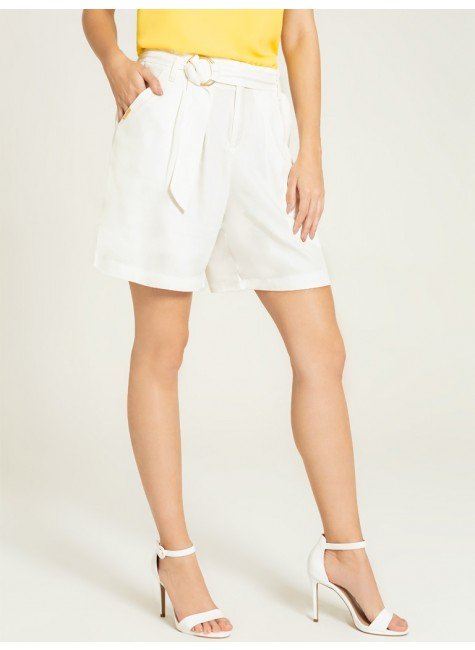 shorts off white madaleine frente