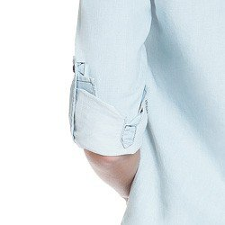 blusa jeans manga longa suzy martingale