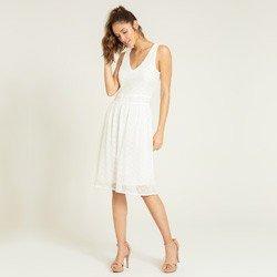 vestido renda off white dominique geral