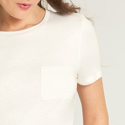 blusa off white valente bolso