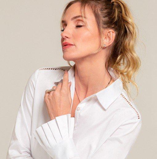 Para usar sempre: Camisa Branca!
