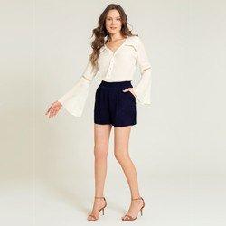 shorts de vinho marinho shanaia geral