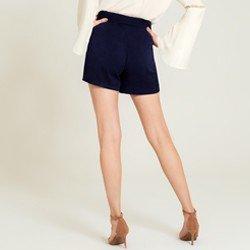 shorts de vinho marinho shanaia modelagem