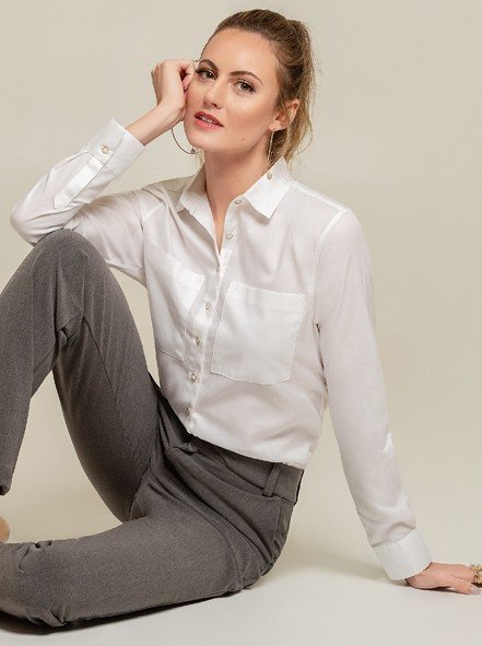 Camisa Branca Lenna