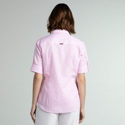 camisa listrada rosa mery modelagem