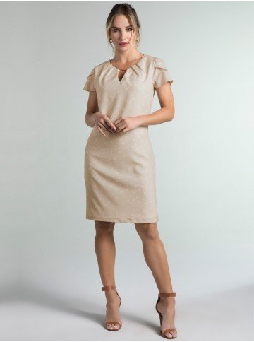 vestido de poa marla frente