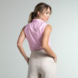regata rosa poa yuna modelagem
