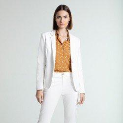 camisa social feminina estampada rania geral
