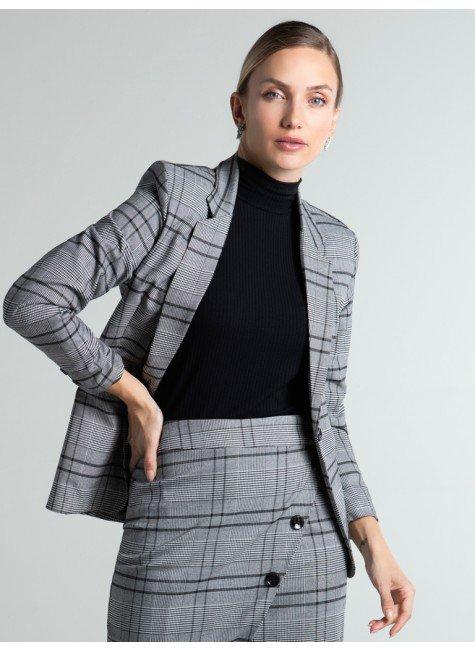 blazer xadrez cinza kilani frente1