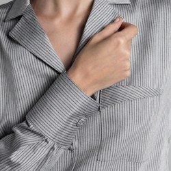 camisa listrada cinza bethany selecionados