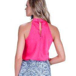 regata cetim rosa gola alta juliane modelagem
