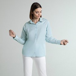 camisa social azul verena geral
