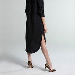 vestid chemise preto samsara geral