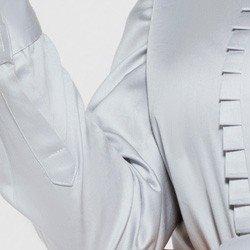 camisa com drapeado olimpia costas