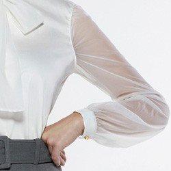 camisa com gola laco off seona manga