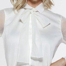 camisa com gola laco off seona gola