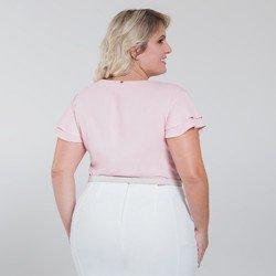 blusa com babados rose veridiana modelagem