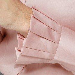 detalhe camisa prega punhos rose claudina guipir