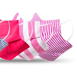 kit mascara de tecido reutilizavel liz