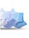 mascara tecido reutilizavel kit detalhe sol