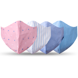 kit mascara de tecido reutilizavel sol
