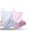 mascara tecido reutilizavel kit detalhe bel