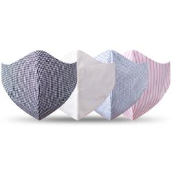 kit mascara de tecido reutilizavel bel