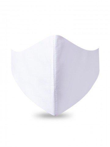 mascara de protecao branca tecido
