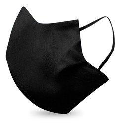 detalhe mascara preta tina elastico